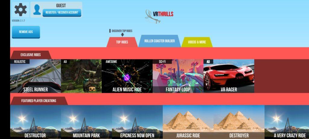 VR Thrills Горки