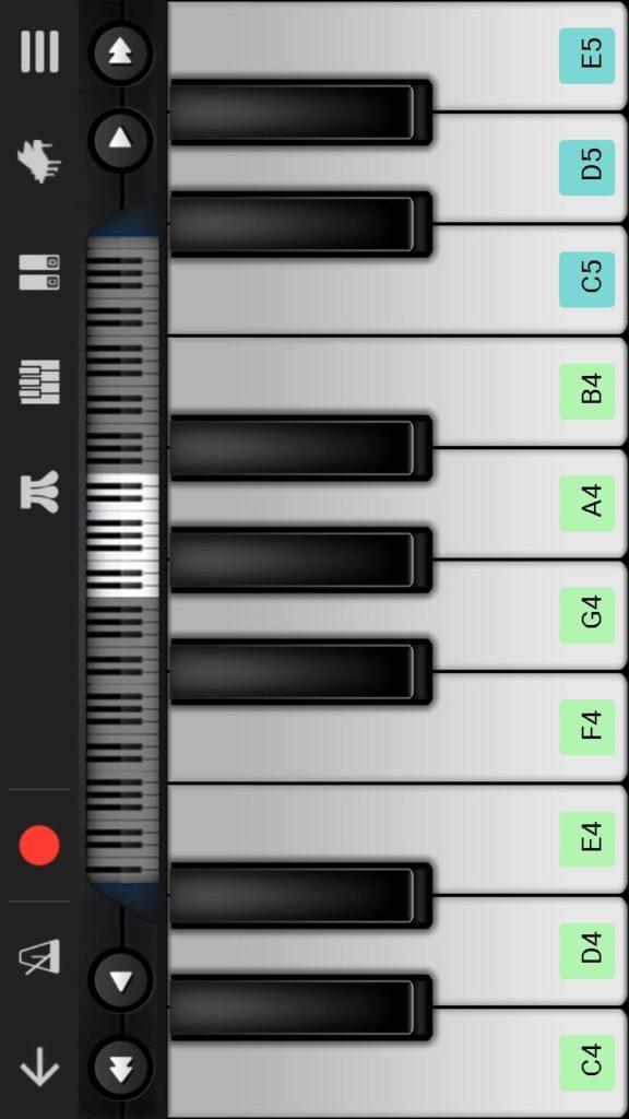 Walk Band клавишные