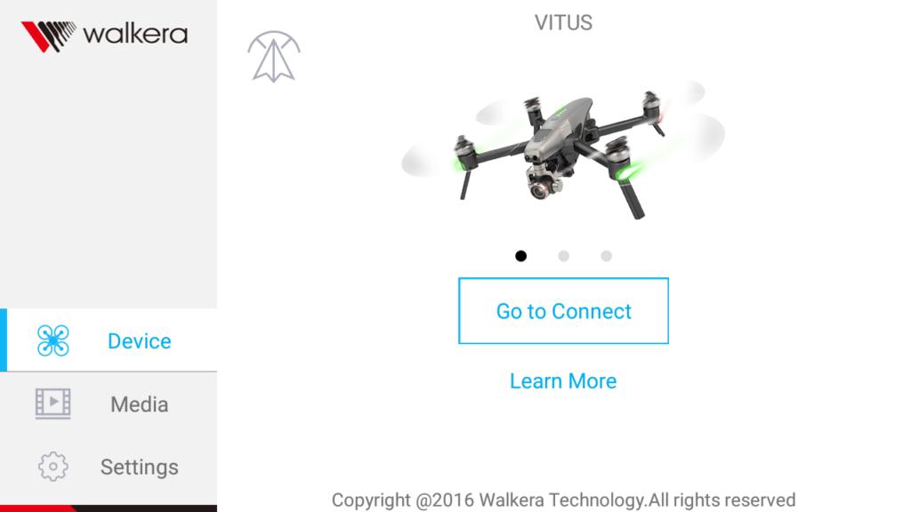 Walkera Drone Подключение к дрону