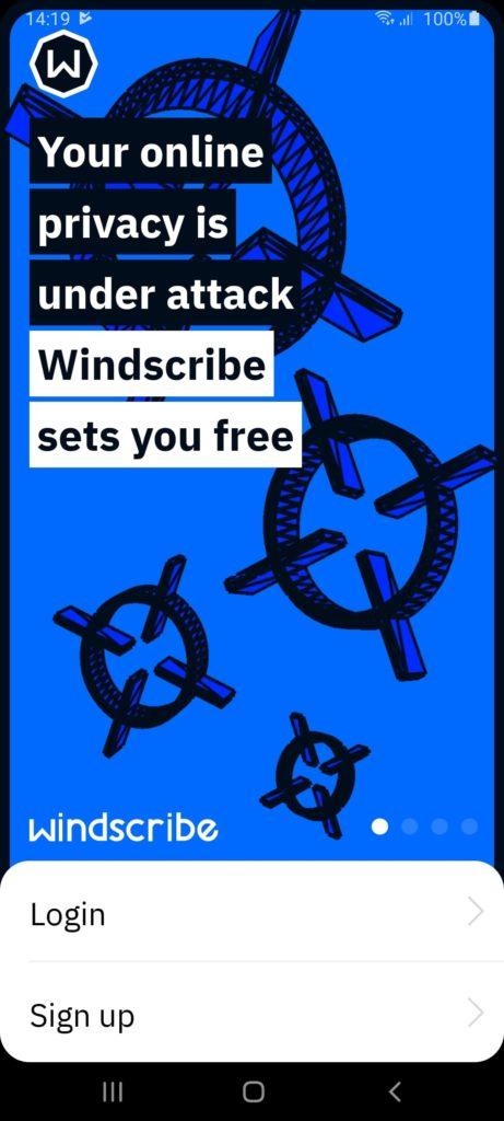 Windscribe VPN Вход