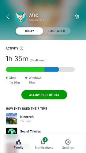 Xbox Family Активностть