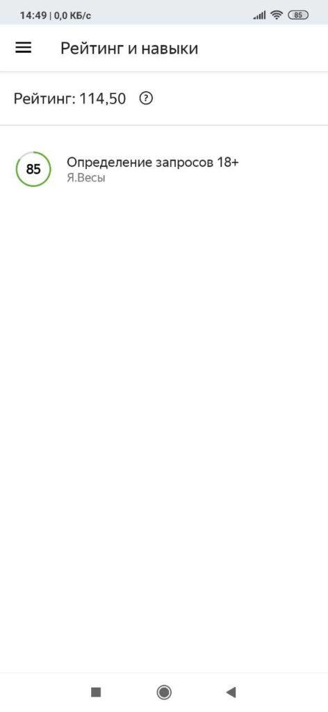 Яндекс Толока Рейтинг