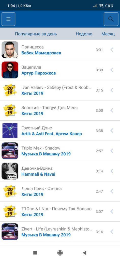 Z1 FM Популярное