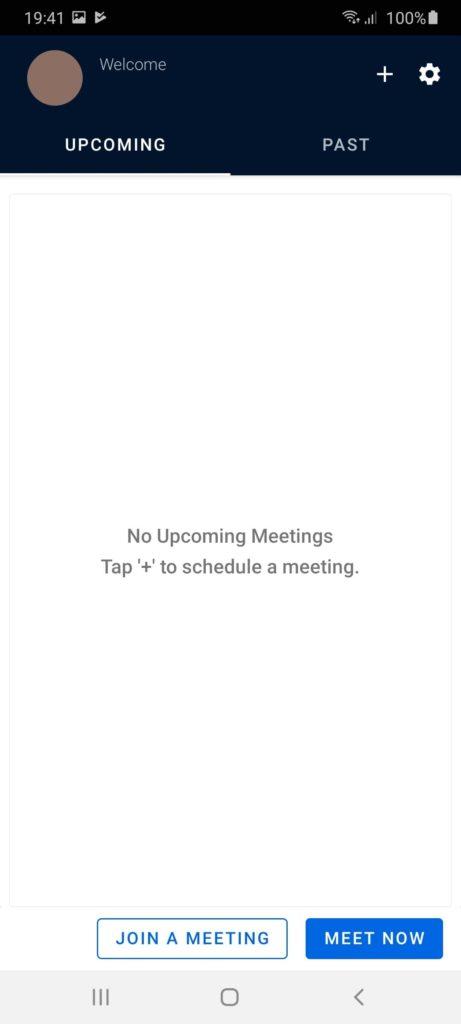 Zoho Meeting Расписание