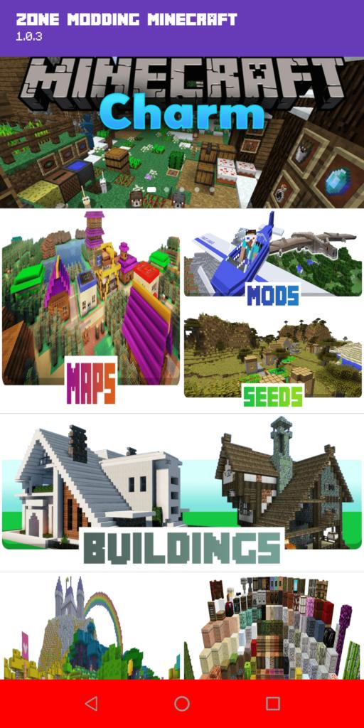 Zone Modding Minecraft Каталог