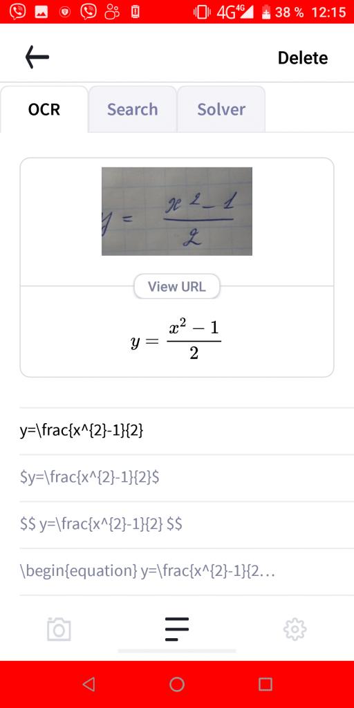 Mathpix Результат