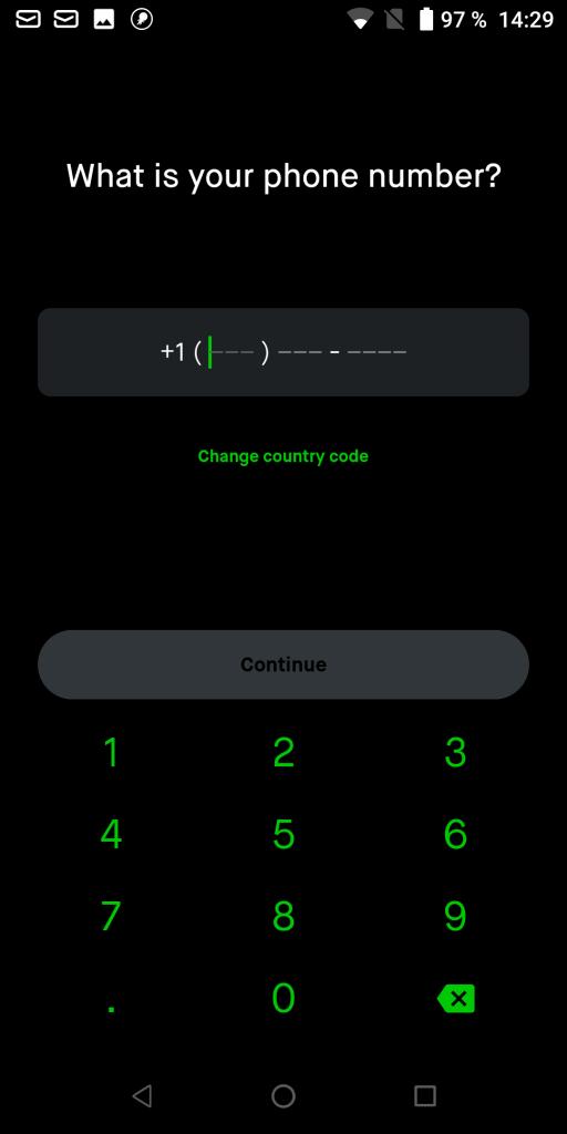 Robinhood Номер телефона