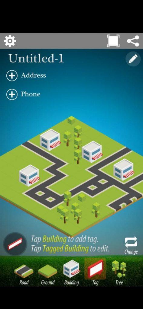 Simple Map Creator Isometric Ландшафт