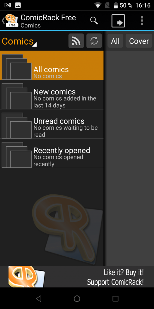 ComicRack Комиксы