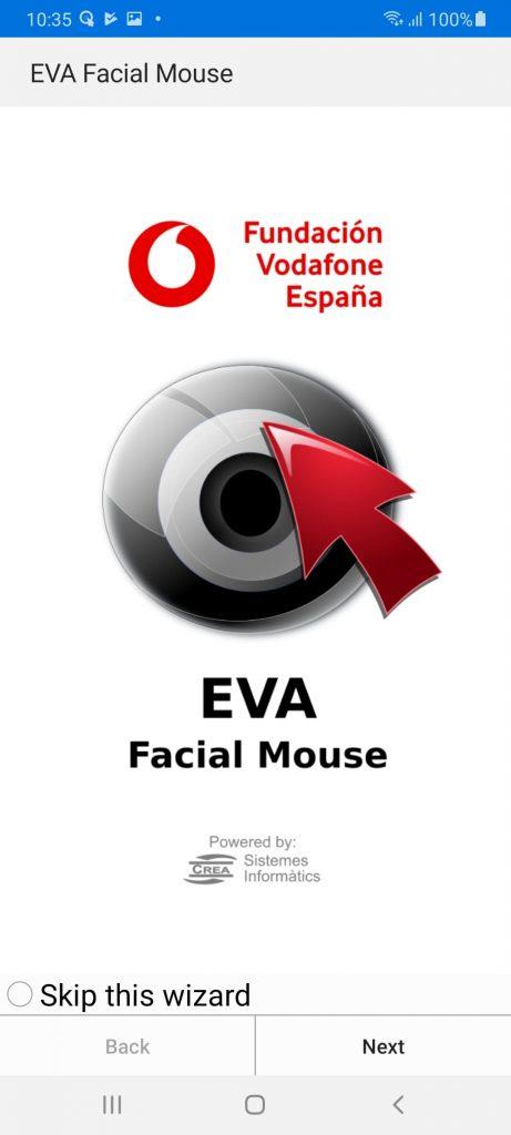 EVA Facial Mouse Главная