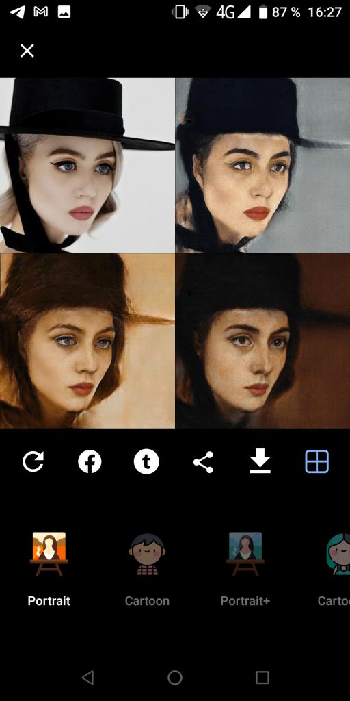 PortraitAI Портрет