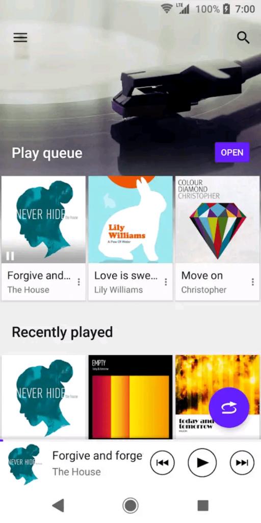 SONY Music Главная страница