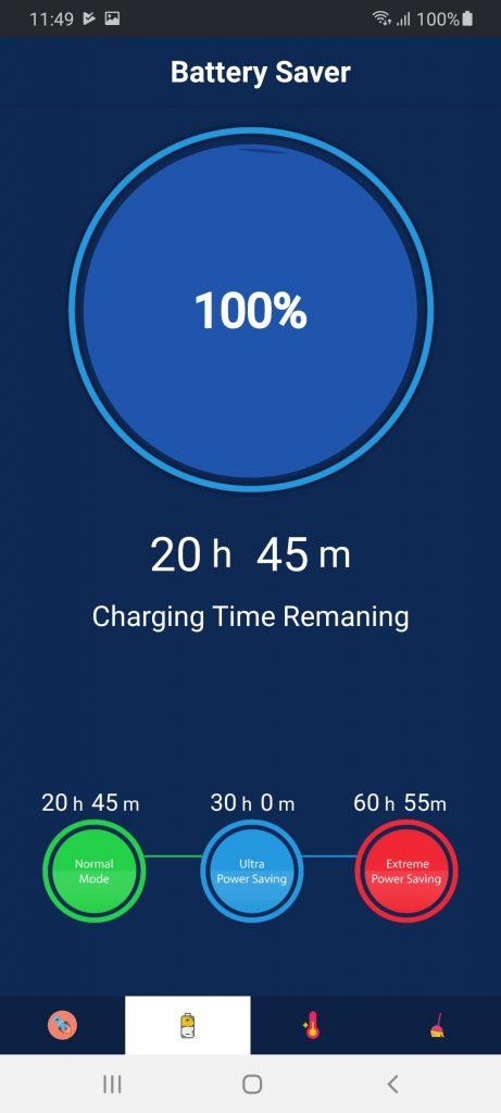 Battery Saver Батарея