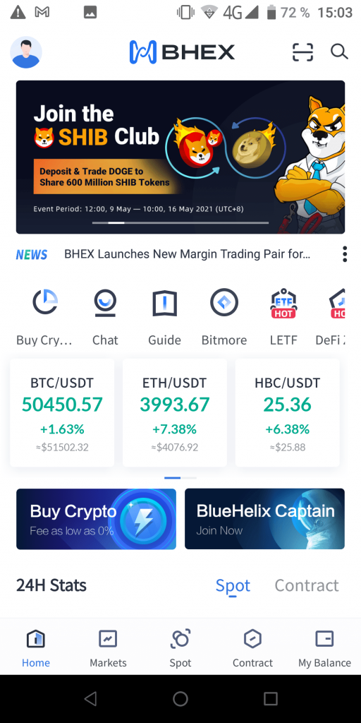 Bhex Домашняя страница