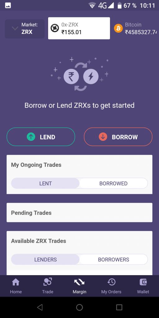 Bitbns Размещение средств
