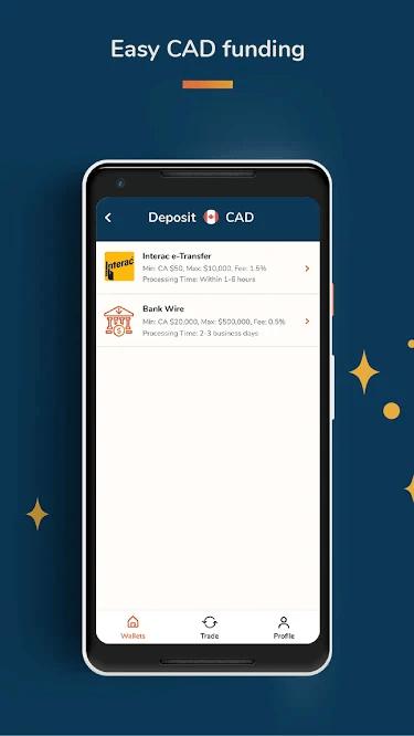 Bitbuy Депозит