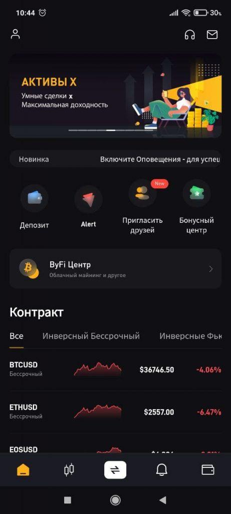 Bybit Контракты