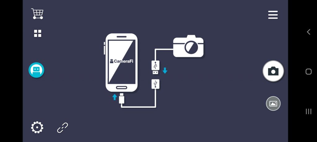 CameraFi Подключение