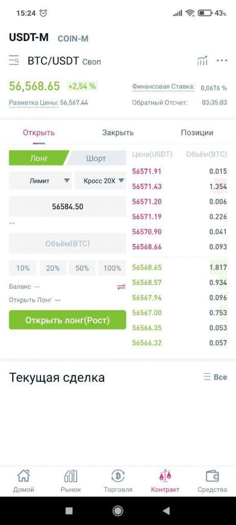 CoinTiger Цены