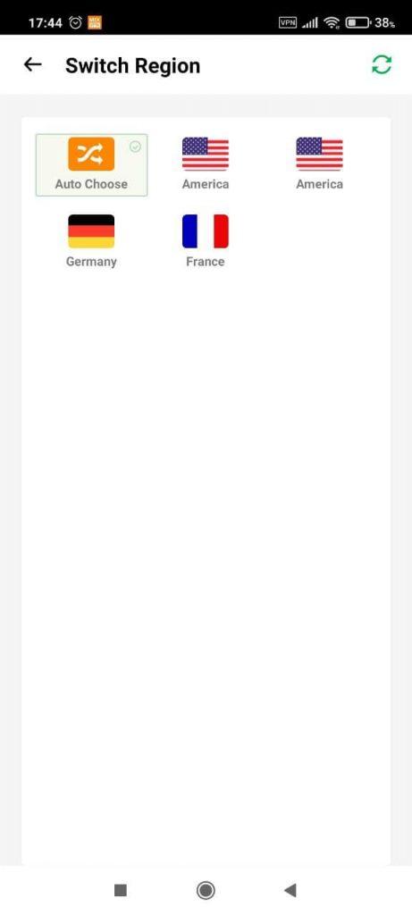 Mix VPN Страны