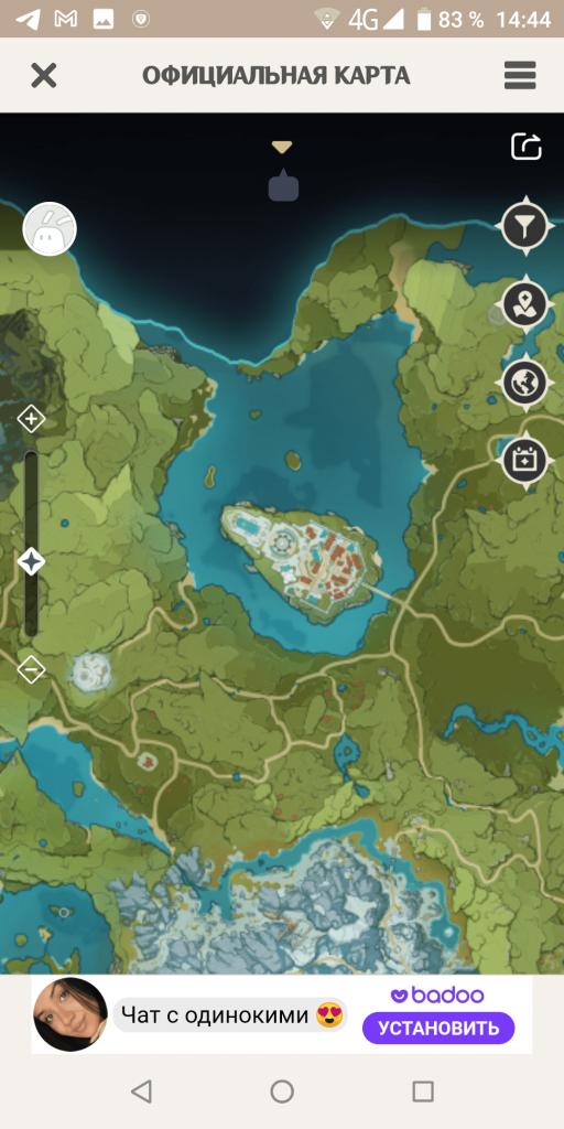 Genshin Helper Карта