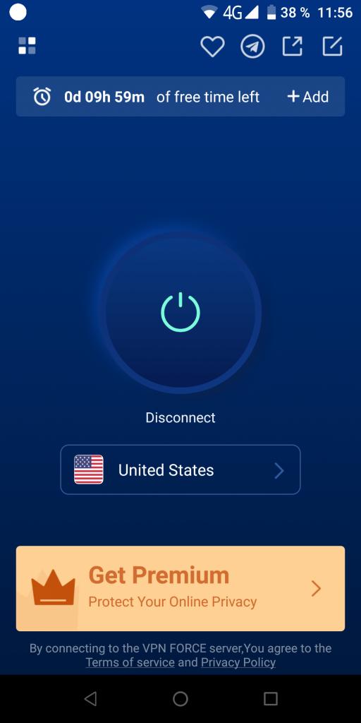 VPN Force Коннект