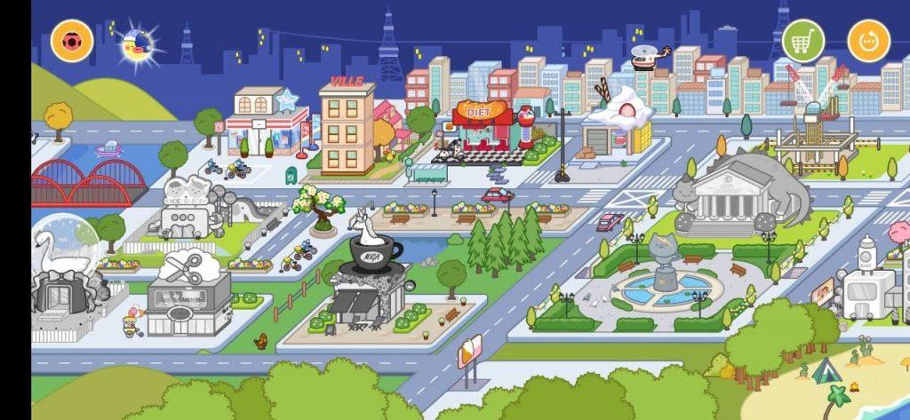 Miga Город Мир Локации