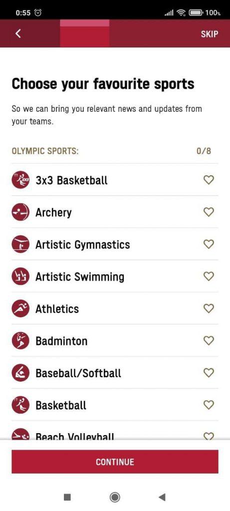 Olympics Спорт