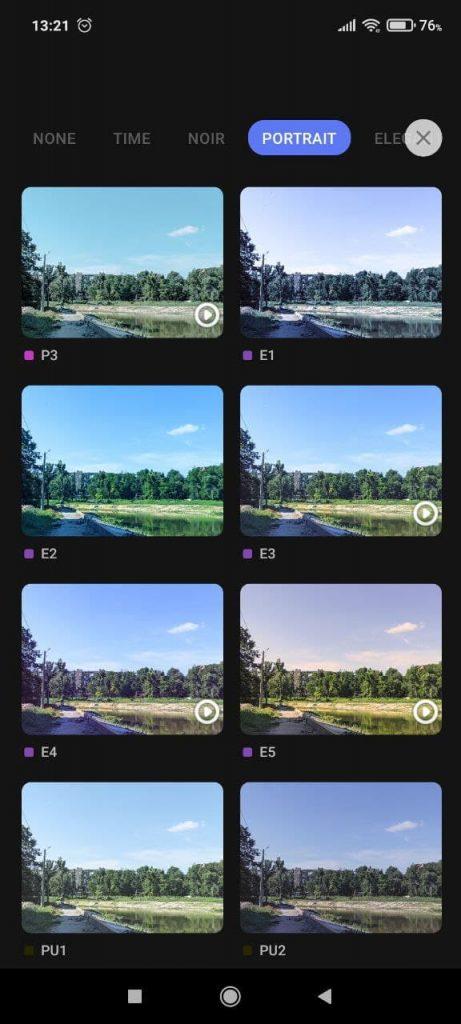 PicPlus Фильтры