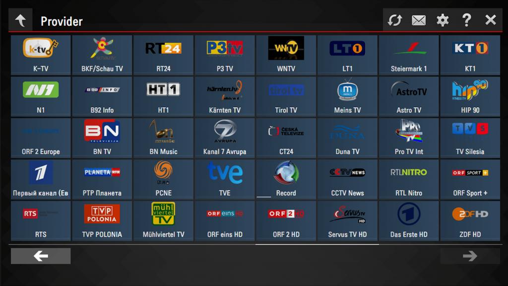 SS IPTV Провайдеры