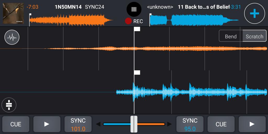 Cross DJ Создание микса