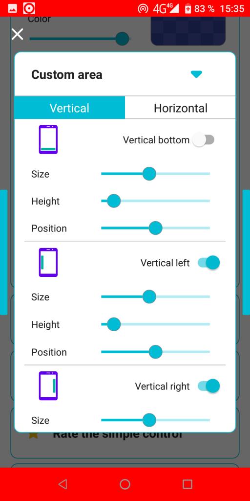 Simple Control Расположение