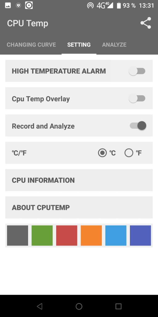 Cpu Temperature Настройки