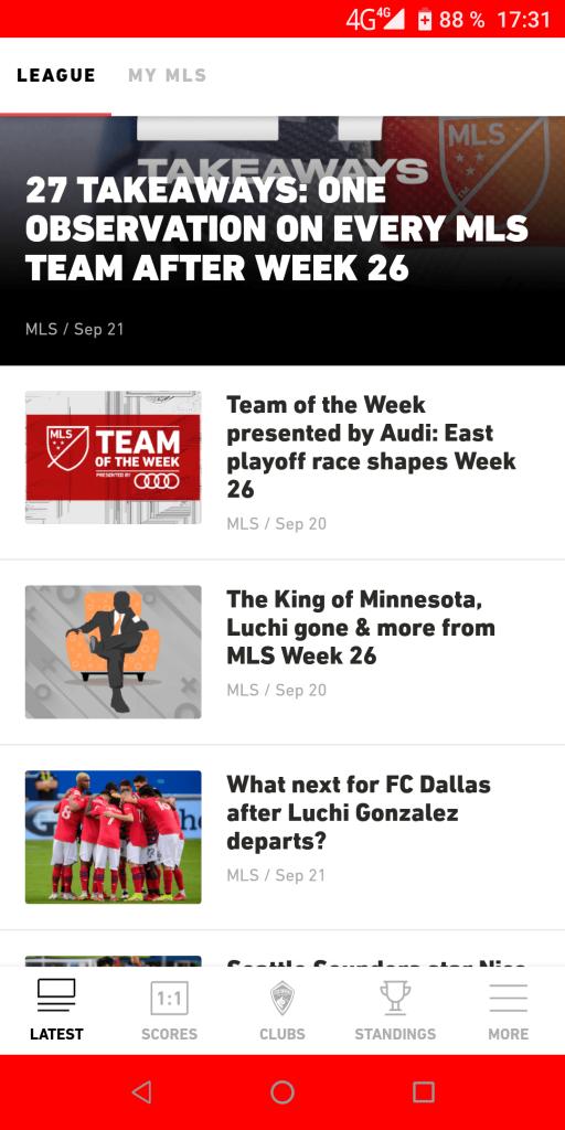 MLS Новости