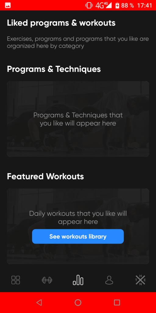 Thenx Избранные тренировки